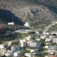 Αθλητικό κέντρο τής Σαρωνίδας στις πλαγιές του Ολύμπου, ψηλά στην οδό Κεφαλληνίας