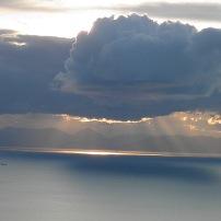 Εκπληκτική θέα από τα υψώματα τού Ολύμπου