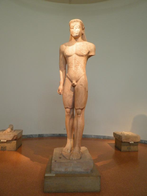 Κούρος Σουνίου (ναός Ποσειδώνος - 600 π.Χ.)