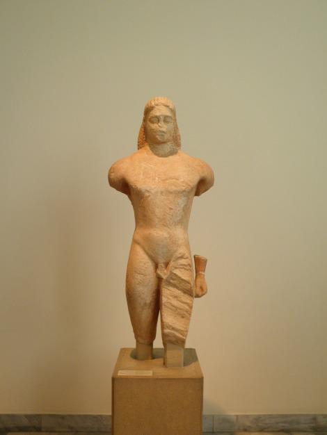 Κούρος Κερατέας (μέσα 6ου αιώνα π.Χ.)