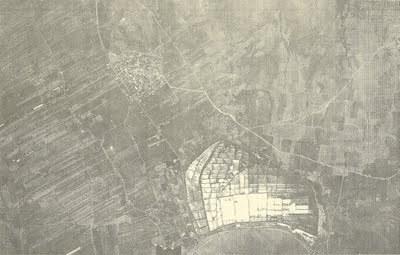 Αεροφωτογραφία της περιοχής Αναβύσσου του 1960 απο τη  Γεωγραφική Υπηρεσία Στρατού (σε πρώτο πλάνο οι Αλυκές)