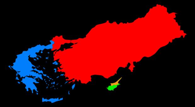greece - turkey - cyprus