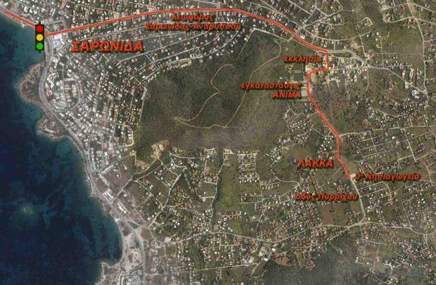 χάρτης διαδρομή 1