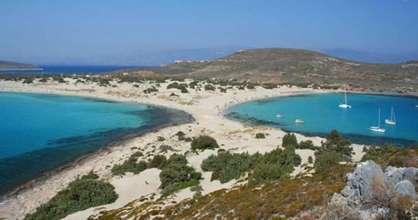 Η δίδυμη παραλία Σίμου και Σαρακήνικου στην Ελαφόνησο, δύο παραλίες σημαντικής περιβαλλοντικής αξίας, έχουν περάσει στο ΤΑΙΠΕΔ
