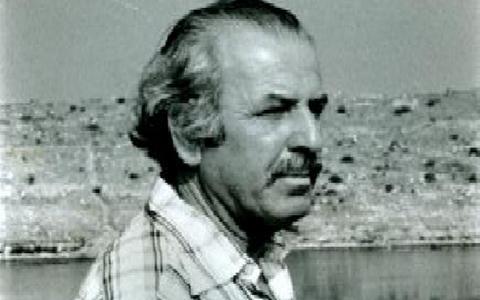 Ο αρχαιολόγος Δημήτρης Λαζαρίδης